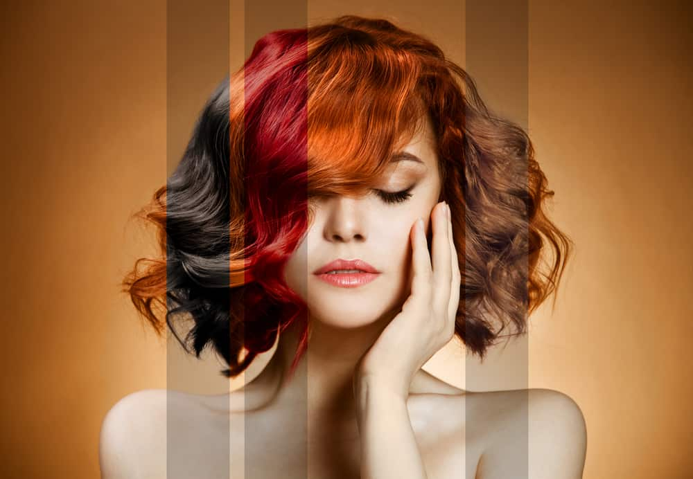 eliminare riflessi rossi capelli