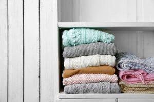 maglione di lana infiltrito