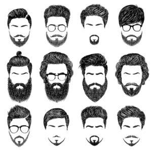 Scegliere il migliore taglio barba in base al viso evicus - Diversi tipi di barba ...