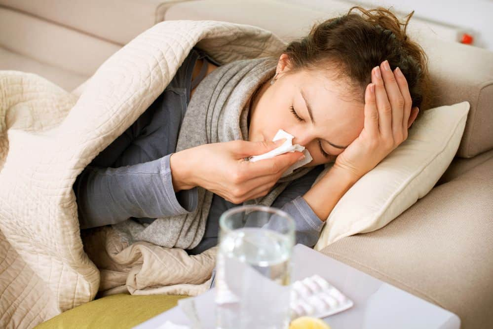 prevenire l'influenza, raffreddore