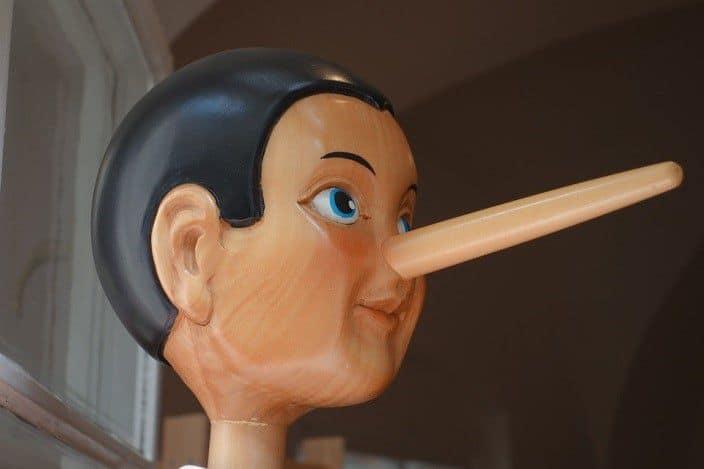 Come capire se una persona mente, la sindrome di Pinocchio