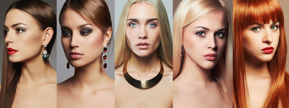 Come scegliere il colore dei capelli in base agli occhi