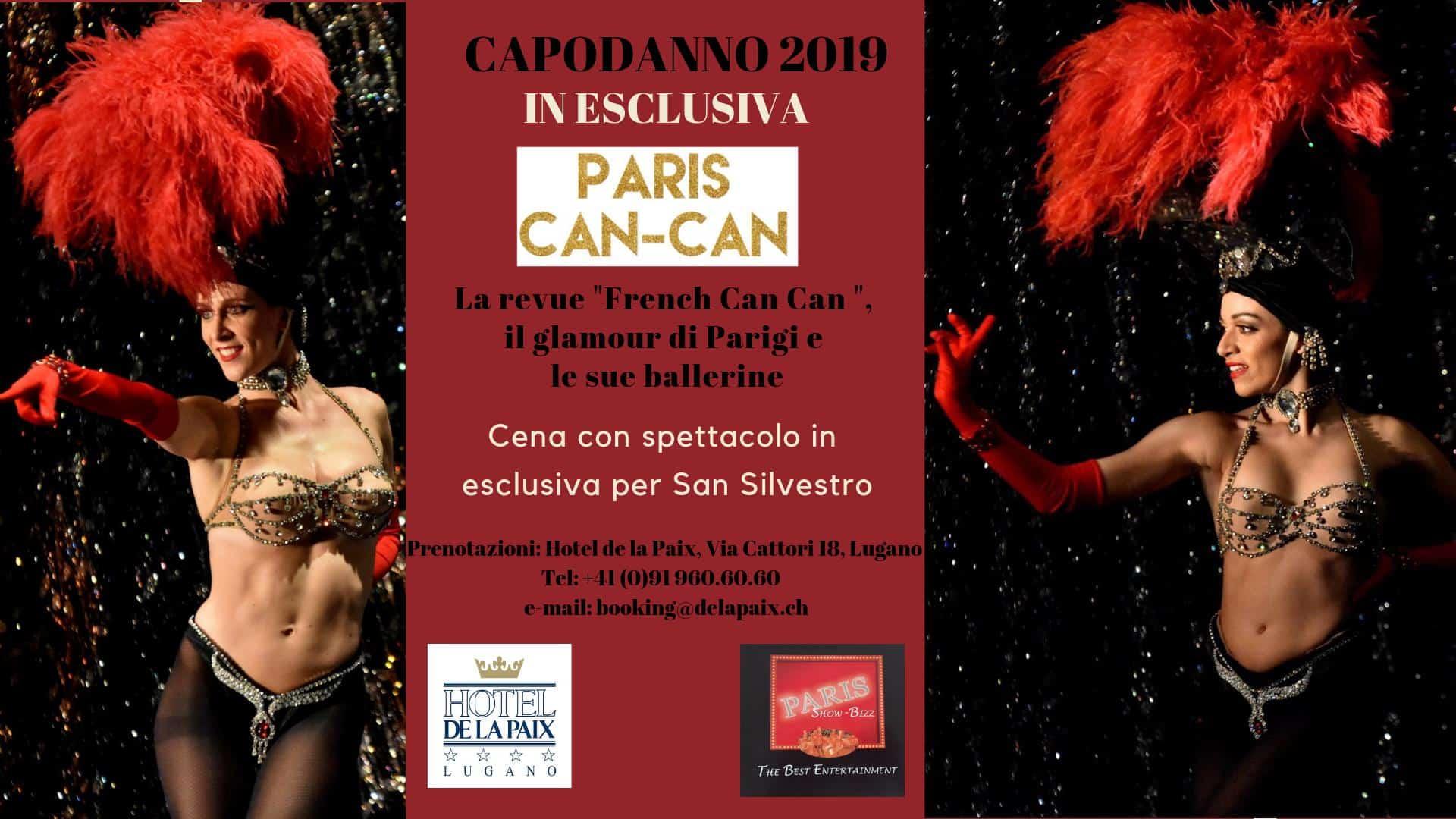 Cosa fare a Capodanno a Lugano 2019, evento con spettacolo